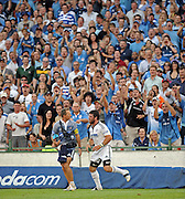 Luke Watson is not the favourite son with the Loftus faithful in the Super 14 match between the Vodacom Bulls and the Vodacom Stormers that took place on Saturday 07 March 2009 at Loftus Versfeld in Pretoria South Africa. The Bulls won this Super 14 match against the Stormers 14 - 10.  <br /> Photographer : Anton de Villiers / NORTH WEST SPORTS