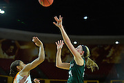 March 18, 2016; Tempe, Ariz;  Green Bay Phoenix guard Allie LeClaire (24) takes a shot during a game between No. 7 Tennessee Lady Volunteers and No. 10 Green Bay Phoenix in the first round of the 2016 NCAA Division I Women's Basketball Championship in Tempe, Ariz.