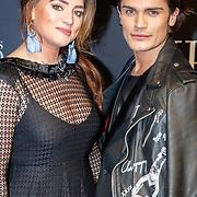 NLD/Amsterdam/20180206 - Fifty Shades Freed premiere, koen Kardashian en een vriendin