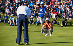 September 29, 2018 - St Quentin En Yvelines, France - Tommy Fleetwood ( Europe ) - Tiger Woods  (Credit Image: © Panoramic via ZUMA Press)