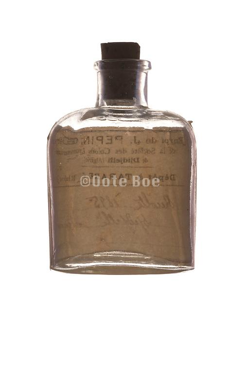 an old medicine bottle