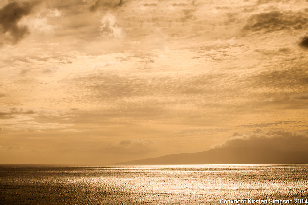 Looking across to Lanai from McGregor Point