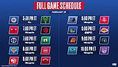 February 28, 2021 (USA): NBA Basketball On ABC