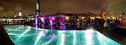 SHOREDITCH HOUSE SWIMMING POOL, InStyle's Best Of British Talent Party in association with Lancome. Shoreditch HouseLondon. 25 January 2011, -DO NOT ARCHIVE-© Copyright Photograph by Dafydd Jones. 248 Clapham Rd. London SW9 0PZ. Tel 0207 820 0771. www.dafjones.com.