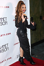 Janet Jackson arrives at the Janet Jackson State of the World Tour After Party - 8 Oct 2017