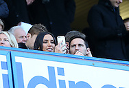 Chelsea's former player Frank Lampard with Christine Bleakley during the Premier League match at Stamford Bridge Stadium, London. Picture date December 11th, 2016 Pic David Klein/Sportimage