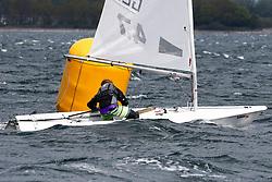 , Kiel - Young Europeans Sailing 14.05. - 17.05.2016, Laser 4.7 - GER 205277 - Justin BARTH - Berliner Yacht-Club e.V