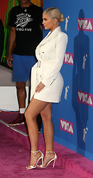 August 20, 2018 - New York City, New York, U.S. - Personality KYLIE JENNER attends the arrivals for the 2018 MTV 'VMAS' held at Radio City Music Hall. (Credit Image: © Nancy Kaszerman via ZUMA Wire)