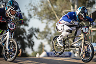 #3 (ANDRE Sylvain) FRA during practice at Round 9 of the 2019 UCI BMX Supercross World Cup in Santiago del Estero, Argentina