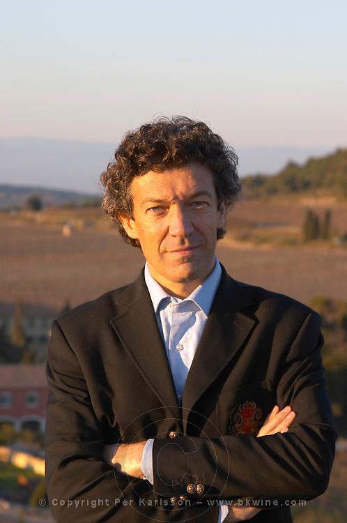 Gérard Bertrand Domaine Gerard Bertrand, Chateau l'Hospitalet. La Clape. Languedoc. Owner winemaker. France. Europe.