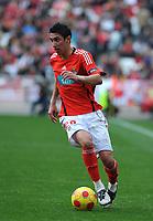 20090117: LISBON, PORTUGAL - SL Benfica vs Belenenses: Portuguese League Cup 2008/2009. In picture: Di Maria (Benfica). PHOTO: Alvaro Isidoro/CITYFILES