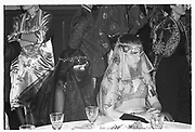 DEBORAH GILDEY, HELEN BORROWS, ,  Sultans Ball. Oxford Town Hall, March 1986