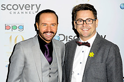 (L-R) Stephen Webb & Chris Steed attends the Broadcasting Press Guild Awards sponsored by The Discovery Channel at Theatre Royal, London, United Kingdom. Friday, 28th March 2014. Picture by Chris Joseph / i-Images