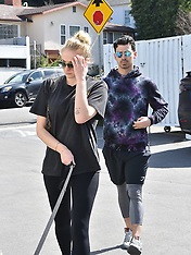 Sophie Turner and Joe Jonas out and about - 1 March 2020