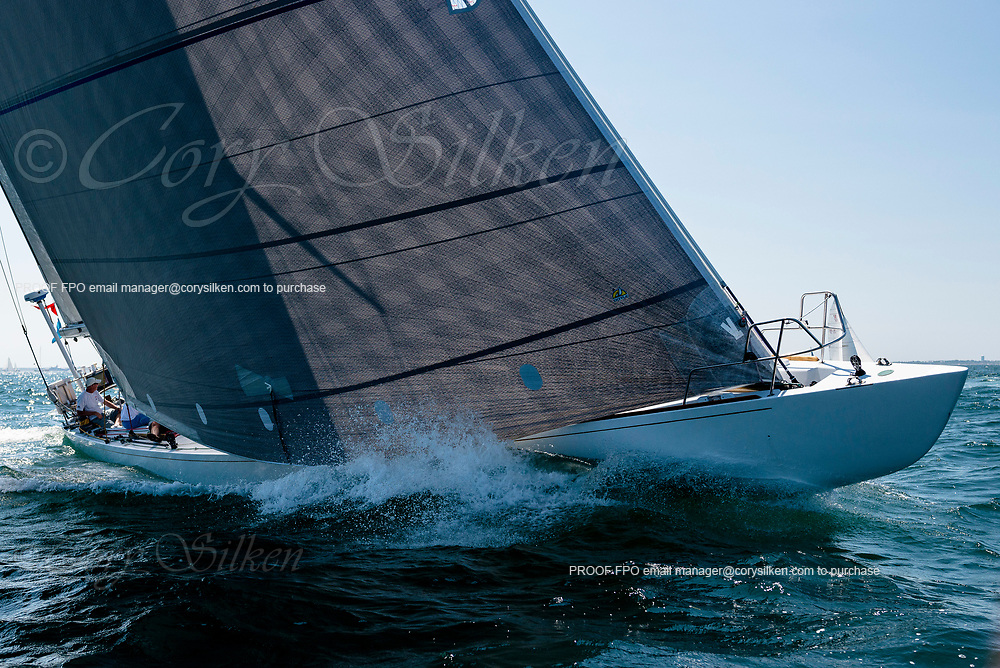 Valiant sailing in the Opera House Cup.