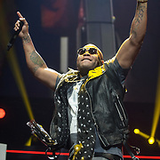 WASHINGTON, D.C. - December 16th, 2013 - Flo Rida performs onstage during Hot 99.5's Jingle Ball 2013, presented by Overstock.com, at Verizon Center on December 16, 2013 in Washington, D.C. (Photo by Kyle Gustafson / For The Washington Post)