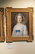 Painting of Ann Pigot (1718-1810) by William Hoare 1740, Weston-super-Mare museum, Somerset, England, UK