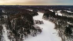 Eastman Duran Park - Winter Hike Drone