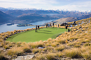 Helicopter Golf: A Par 3 in the Sky Overlooking Queenstown<br />