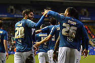 Birmingham City midfielder Jon Toral celebrates goal during the Sky Bet Championship match between Birmingham City and Ipswich Town at St Andrews, Birmingham, England on 23 January 2016. Photo by Alan Franklin.