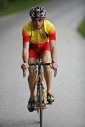 Miro Kregar, triathlon athlete during his training, on May 22, 2007 in Mostec, Ljubljana, Slovenia. Photo by Vid Ponikvar / Sportida