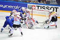 Action - 24.04.2015 - France / Suisse - Match Amical -Grenoble<br />Photo : Jean Paul Thomas / Icon Sport