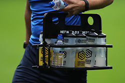 A general view of a Soccer Supplement drinks holder