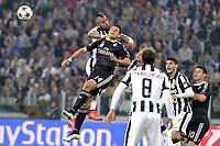 Arturo Vidal Juventus, Javier Hernandez Real,<br /> Torino 05-05-2015, Juventus Stadium, Football Calcio 2014/2015 Champions League, Juventus - Real Madrid, foto Filippo Alfero/Insidefoto