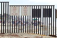 U.S. / Mexico International Border, Border Field State Park, California