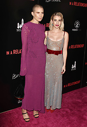 """""""In A Relationship"""" Premiere at The London Hotel in West Hollywood, California on 10/30/18. 30 Oct 2018 Pictured: Emma Roberts, Dree Hemingway. Photo credit: River / MEGA TheMegaAgency.com +1 888 505 6342"""