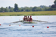 Race: 39  Event: Coxless Fours - Championship - Final<br /> <br /> National Schools Regatta 2018<br /> Sunday<br /> <br /> To purchase this photo, or to see pricing information for Prints and Downloads, click the blue 'Add to Cart' button at the top-right of the page. The Metropolitan Regatta 2018