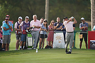 Jose Maria Olazabal (ESP) in action during the second round of the Omega Dubai Desert Classic, Emirates Golf Club, Dubai, UAE. 25/01/2019<br /> Picture: Golffile | Phil Inglis<br /> <br /> <br /> All photo usage must carry mandatory copyright credit (© Golffile | Phil Inglis)