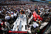 June 8-14, 2015: 24 hours of Le Mans - #19 PORSCHE TEAM, PORSCHE 919 HYBRID, Nico HULKENBERG, Earl BAMBER, Nick TANDY, #17 PORSCHE TEAM, PORSCHE 919 HYBRID, Timo BERNHARD, Mark WEBBER, Brendon HARTLEY
