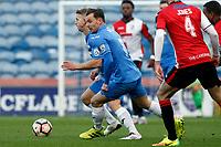 Danny Lloyd. Stockport County Football Club 2-4 Woking Football Club, Emirates FA Cup first round, 5.11.16.