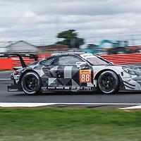 #88, Proton Competition, Porsche 911 RSR, LMGTE Am, driven by: Gianluca Roda, Giorgio Roda, Matteo Cairoli at FIA WEC Silverstone 6h, 2018 on 17.08.2018