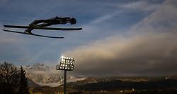 06.01.2014, Paul Ausserleitner Schanze, Bischofshofen, AUT, FIS Ski Sprung Weltcup, 62. Vierschanzentournee, Probesprung, im Bild Gregor Deschwanden (SUI) // Gregor Deschwanden (SUI) during Trial Jump of 62nd Four Hills Tournament of FIS Ski Jumping World Cup at the Paul Ausserleitner Schanze, Bischofshofen, Austria on 2014/01/06. EXPA Pictures © 2014, PhotoCredit: EXPA/ JFK