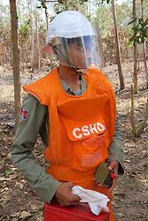 Preparing To Detonate Mortar