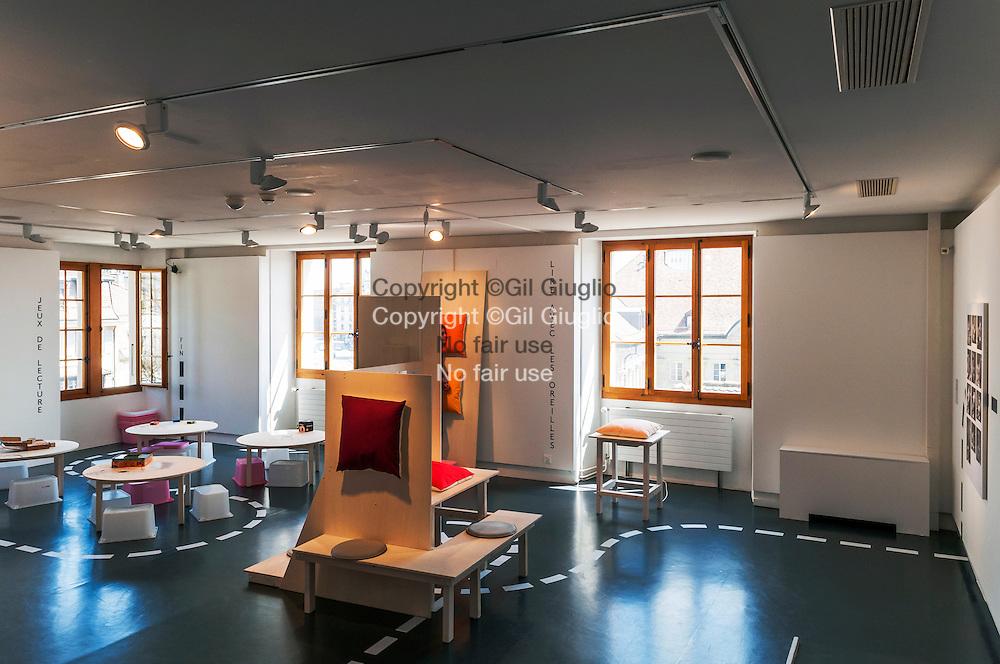 Suisse, Canton de Vaud, Région du Léman, Lausanne, MUDAC, Musée de Design  et d'Arts Appliqués // Switzerland, Canton of Vaud, region of Leman, Lausanne, MUDAC (Museum of design and contempory arts)