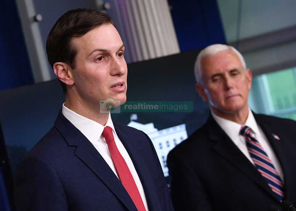 Jared Kushner, President Trump's son-in-law and senior adviser, speaks at a Coronavirus briefing at the White House on Thursday, April 2, 2020 in Washington, DC. Due to the COVID-19 pandemic, at least 5,700 people have died in the United States with more than 200,000 infected. More than 10 million people have lost their jobs in the U.S. in the past two weeks. Photo Kevin Dietsch/Pool/ABACAPRESS.COM