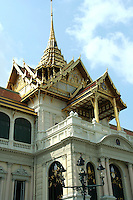 The Grand Palace is a complex of buildings in Bangkok which served as the official residence of the Kings of Thailand from the 18th century onwards. The Palace has been constantly expanded and many additional structures were added over time. The present King of Thailand, King Rama IX, however, resides at the Chitralada Palace.