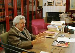 Paulo Brossard de Souza Pinto,  ex-ministro da Justiça no período de 14.02.1986 a 17.01.1989, nasceu em 23 de outubro de 1924, em Bagé, no Rio Grande do Sul, filho de Francisco de Souza Pinto e D. Alila Brossard de Souza Pinto. FOTO: Jefferson Bernardes/ Agência Preview