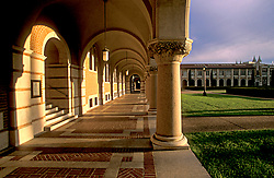 Stock photo of architecture on the Rice University campus in Houston Texas