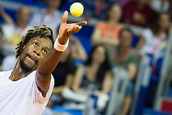 Gael Monfils (FRA) during a tennis match against the Dominic Thiem (AUT) in semi-final round of singles at 26. Konzum Croatia Open Umag 2015, on July 25, 2015, in Umag, Croatia. Photo by Urban Urbanc / Sportida