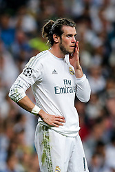 Gareth Bale of Real Madrid looks on - Mandatory byline: Rogan Thomson/JMP - 04/05/2016 - FOOTBALL - Santiago Bernabeu Stadium - Madrid, Spain - Real Madrid v Manchester City - UEFA Champions League Semi Finals: Second Leg.