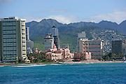 Royal Hawaiian, Hotel, Waikiki, Oahu, Hawaii