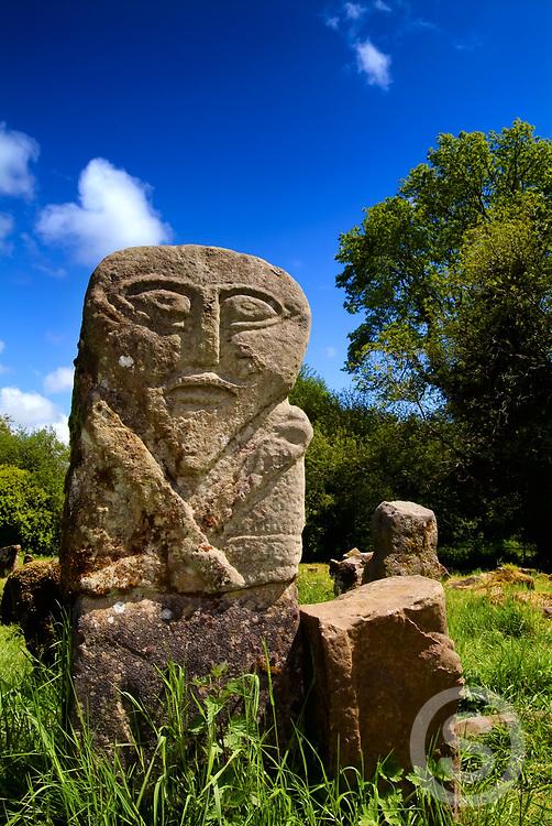 Photographer: Chris Hill, Janus Stone, Boa Island, Lough Erne, County Fermanagh
