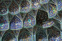 'Stalactite' Tile Work, Sheikh Lotfollah Mosque, Esfahan, Iran