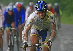 Esad Hasanovic of Serbia (Centri Della Calzatura - Partizan) in last 4th stage of the 15th Tour de Slovenie from Celje to Novo mesto (157 km), on June 14,2008, Slovenia. (Photo by Vid Ponikvar / Sportal Images)/ Sportida)