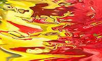 abstract bright red and yellow color flow with many shades