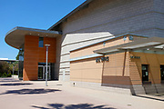 The Clayes Performing Arts Center on Campus at California State University Fullerton